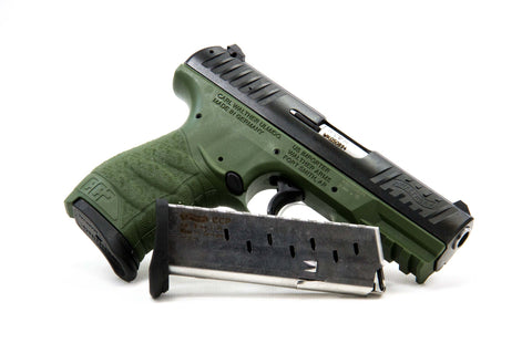 Walther CCP, 9mm, Forest Green
