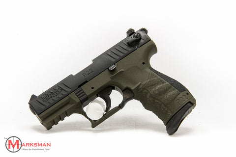 Walther P22 Military, .22 lr