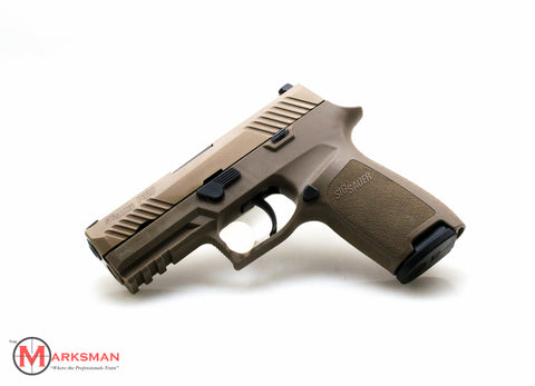 Sig Sauer P320 Carry, 9mm, Flat Dark Earth, Night Sights