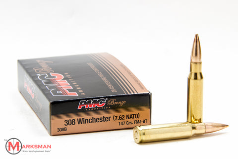 PMC .308 Winchester, 147 grain FMJ-BT, Online Deal Only