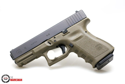 Glock 19 Generation 3, 9mm, O.D. Green