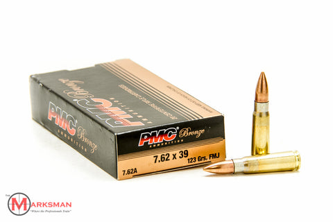 PMC 7.62 x 39mm, 123 gr. FMJ