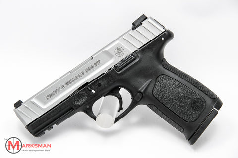 Smith and Wesson SD9 VE, 9mm, Stainless Slide