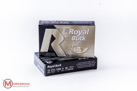 "Rio Royal Buck 12 Gauge, OO Buck, 2 3/4"", Online Deal Only"
