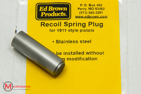 Ed Brown 1911 Recoil Spring Plug, Stainless