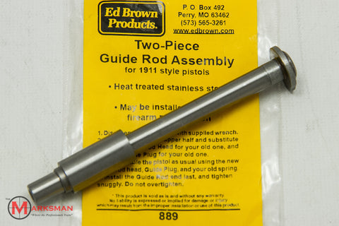 Ed Brown 1911 Two-Piece Guide Rod Assembly, Stainless Steel
