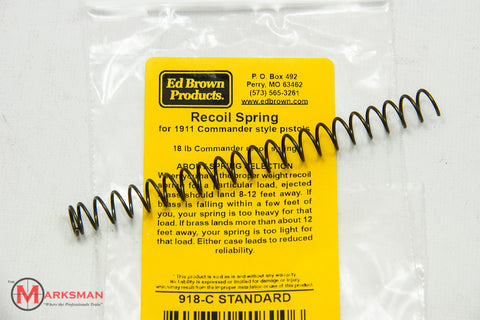 Ed Brown 1911 Commander Recoil Spring, 18 lb.