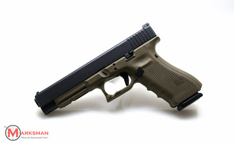 Glock 34 Generation 4, 9mm, O.D. Green, Limited Production