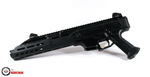 CZ Scorpion Evo 3 S1 Pistol, 9mm, With Flash Can