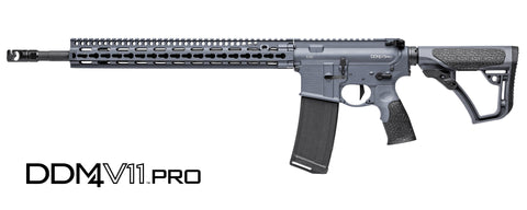 Daniel Defense DDM4 V11 Pro, 5.56mm NATO, Tornado Gray Cerakote Finish