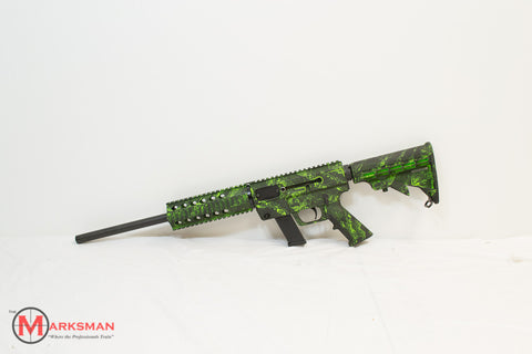 Just Right Carbine, Zombie Green, 9mm
