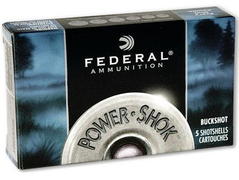 Federal Power-Shok 20 Gauge 3 Buck, 2 3/4""