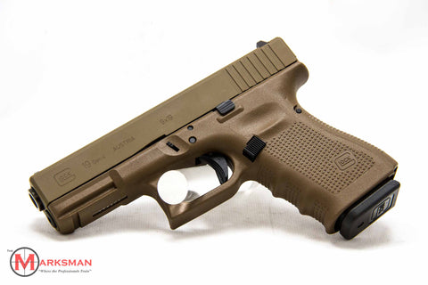 Glock 19 Generation 4, 9mm, Flat Dark Earth, Lipsey's Exclusive