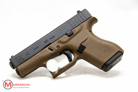 Glock 42, .380 ACP, Flat Dark Earth, Lipsey's Exclusive