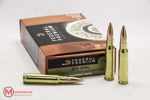 Federal Gold Medal Match .308 Winchester, 175 Gr. HPBT