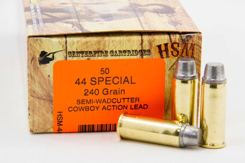 HSM .44 Special Cowboy Action, 240 Gr. LSW