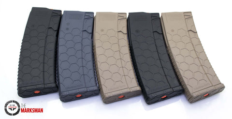 Hexmag 30 round AR-15 Magazines, 5 Pack, Online Deal Only