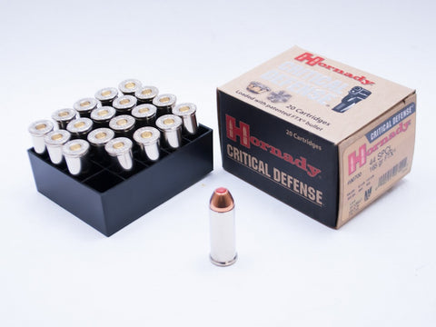 Hornady Critical Defense, .44 Special, 165 gr FTX