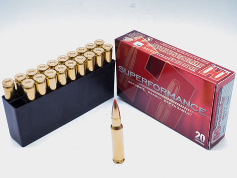 Hornady Superformance Match, .308 Winchester, 168 gr A-MAX