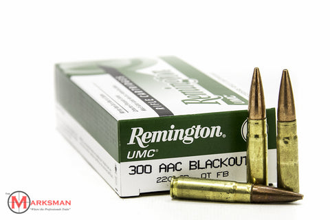Remington UMC .300 Blackout, 220 Gr. OT