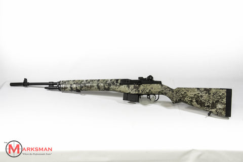 Springfield M1a, .308 Winchester, Highlander Camo Stock