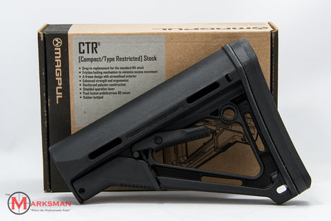 Magpul CTR (Compact/Type Restricted) Stock, Black, Commercial