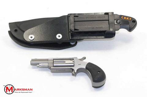 North American Arms Tucker Trailmaster Kit, .22 Magnum, Knife and Holster, 2nd Edition