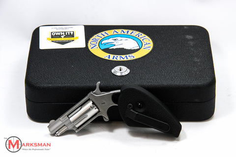 North American Arms Mini Revolver, .22 Magnum, with Holster Grip
