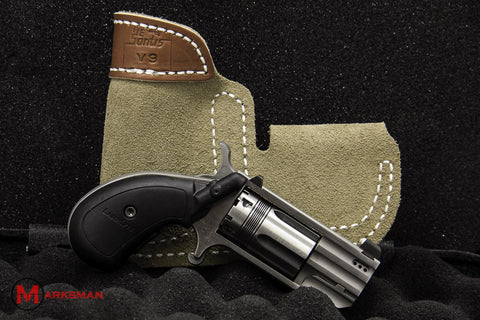 North American Arms Pug, .22 Magnum, Talo Exclusive, with Ported Barrel, Pocket Holster and Laser Grip
