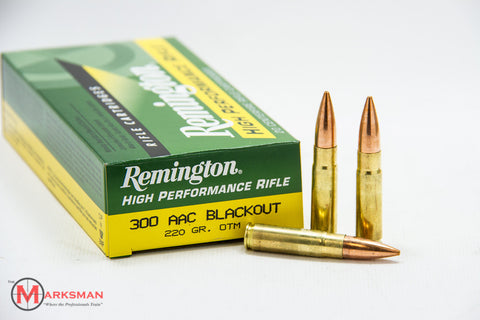 Remington .300 AAC Blackout, 220 Gr.