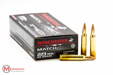 Winchester Match .223 Remington, 69 Gr. HPBT