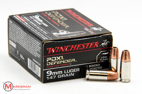 Winchester PDX1 Defender 9mm, 147 Gr. BJHP