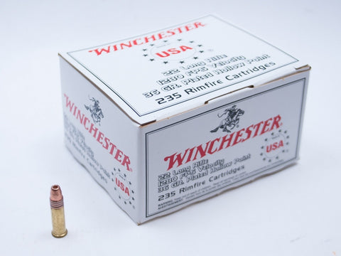 Winchester .22 lr Plated Hollow Point, 36 gr.