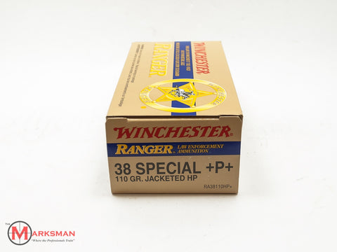 Winchester Ranger, .38 Special HP +P+, 110 gr