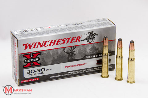 Winchester .30-30 Winchester, 170 Gr. Power-Point