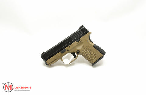 Springfield XDS, 9mm, Flat Dark Earth, Davidson's Exclusive