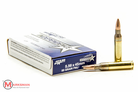 Independence 5.56mm NATO, 55 gr. FMJ