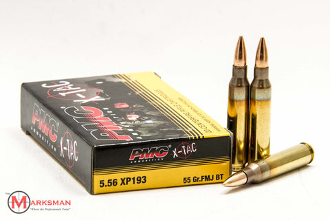 PMC X-TAC 5.56mm NATO, 55 Gr. FMJ-BT