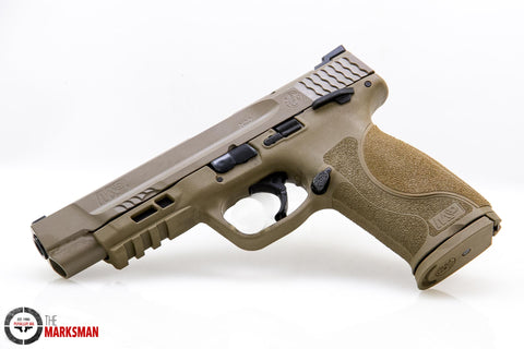Smith and Wesson M&P9 M2.0, 9mm, Flat Dark Earth, Thumb Safety