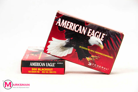 American Eagle .300 Blackout, 150 Gr. FMJ