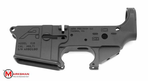 Aero Precision AR-15 Stripped Lower Receiver, Generation 2, Anodized Black