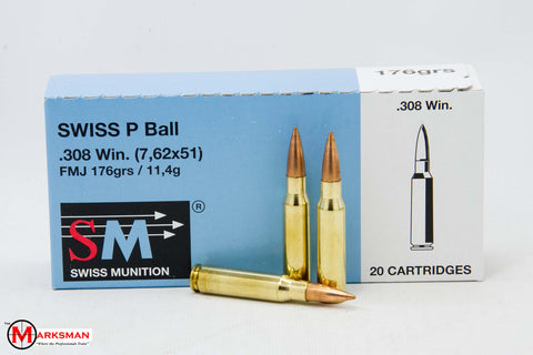 RUAG Swiss P Ball .308 Winchester/7.62mm NATO