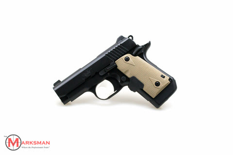 Kimber Micro 9, 9mm, With Desert Tan Laser Grips, Free Shipping