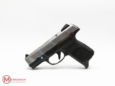 Ruger SR9C, Stainless Steel, 9mm