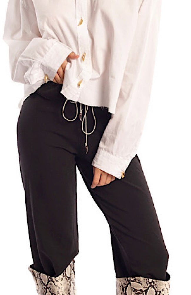 MILA PANT IN BLACK