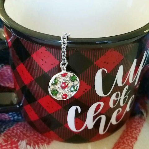 Holiday Cheer Tea Bling