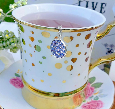 My Tea Bling ® - Pretty Purple