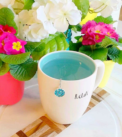 My Tea Bling ® - Tropical Blue