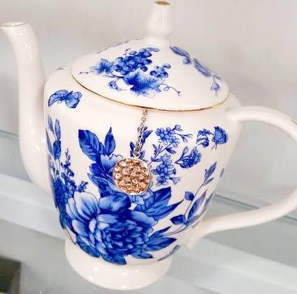My Tea Bling ® - TEAPOT BLING! - GOLDEN GODDESS