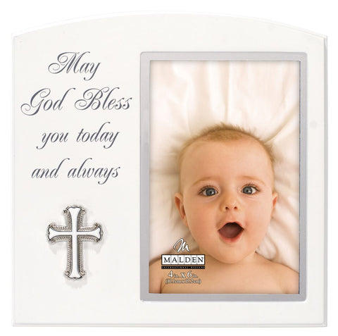 Today & Always Baptism Frame